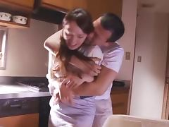 Randy housewife gets some deep penetration porn video