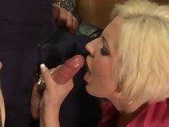 hot blonde cumshot compilation