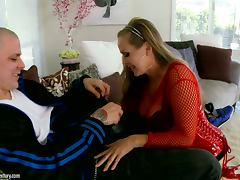Dyanna Lauren the horny MILF gets fucked rough