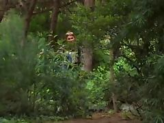 Nikolette spying on sex in the woods porn video