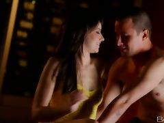 This kinky brunette babe Anikka Albrite wants it one more time