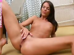 Shaved Pussy, Masturbation, Pussy, Sex, Small Tits, Shaved Pussy