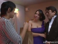 Curvaceous Mizuki Ann gets fucked hard in a bathroom