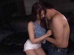 Slim Mau Morikawa gets fucked doggystyle and gives a handjob