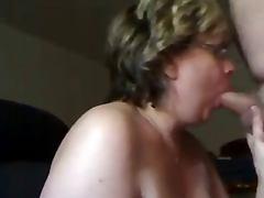 Granny Head Cum on Big Boobs Ending