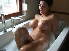 All, Bath, Big Tits, Erotic, Masturbation, Reality