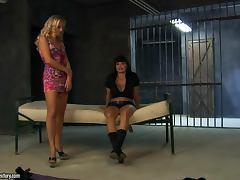 All, Big Tits, Blonde, Lesbian, Prison, Punishment