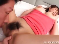 Kurumi Kokoro the girl with huge boobs gets nailed