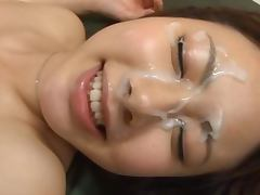 Maho Ichikawa makes it for living with her twat