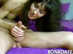 Sexy MILF sucks and rides cock