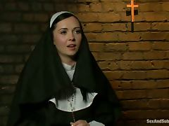 Bondage, BDSM, Bondage, Humiliation, Nun, Rough