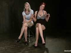 Mz Berlin and Tricia Oaks get bonded and toyed