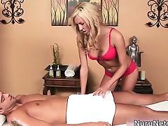 Nasty blonde bitch gets naked part6