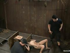 Extreme Bondage Action with Two Hot Girls Totally Exposed