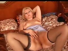 Russian Mature Masturbates My Lovely Mommies 28