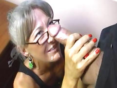 Adorable, Adorable, Babe, Blowjob, Facial, Glasses