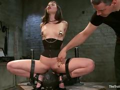 Beautiful Casey Calvert sucks dicks and get humiliated