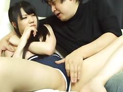Marin Aono gets her pussy toyed and fucked every which way