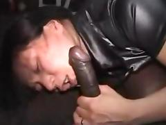 Wild asian wife gets fucked by bbc