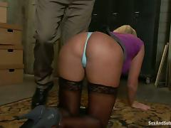 Chained, Ass, BDSM, Bondage, Spanking, Tight