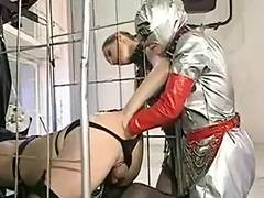German Ladyboy Triple Anal Fist And Foot Fisting