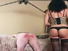 Trained by Headmistress in Nylons porn video