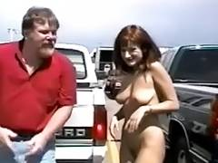 Non Professional bitches gone wild in public places snake