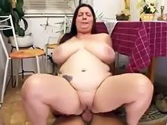 uncles bulky slutty wife drilled in kitchen