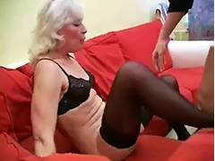 Granny Inga with Saggy Zeppelins Acquires Drilled by snahbrandy