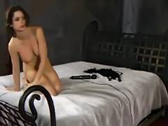 sexy bondman in servitude