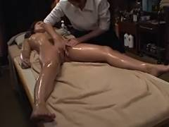 Married, Lesbian, Massage, Oil, Married, Masseuse