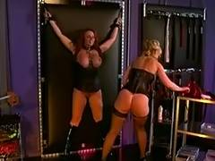 Nina Hartley and a large milk sacks redhead into servitude and S M