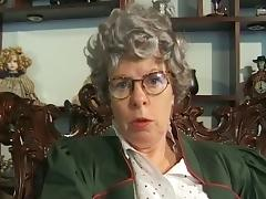 German Grandma Needs A Daily Dose Of Cum porn video