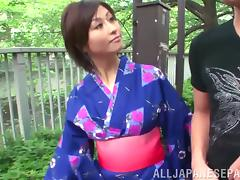Cute Japanese milf gets her pussy fingered and fucked like never before
