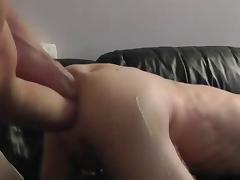 Greedy Twink Double Fisted