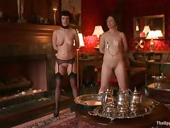 Babes are taken to the house of BDSM and perversion!