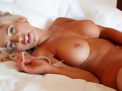 Bed, Babe, Bed, Blonde, HD, Masturbation
