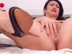 Webcam girl squirting