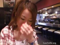 Cute Japaneese Girl Gets Hard POV Fucked