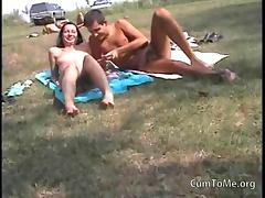 Public, Blowjob, Couple, Dirty, Facial, French