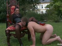 All, Ass, Bitch, Brunette, Femdom, Outdoor
