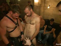 Connor Maguire enjoys having dicks in his ass in a stunning BDSM clip