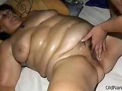 Fat Mature, BBW, Fat, Fingering, Mature, Slut