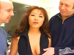 Hot Asian MILF (Anal Threesome)