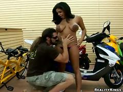 All, Big Tits, Biker, Blowjob, Couple, Cum in Mouth