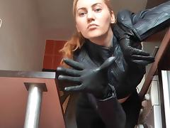 Leather, BDSM, Femdom, Leather, Mistress, POV