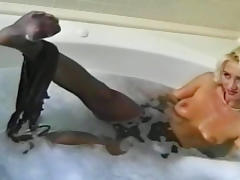 Bathroom, Bath, Bathroom, Blonde, Boobs, Natural