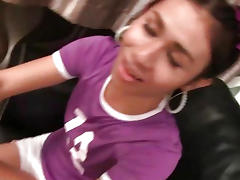 Ladyboy Nin Football Blowjob