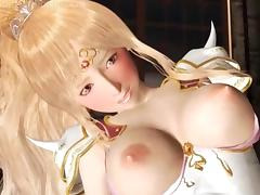 Anime princes gets dripping twat fingered and fucked