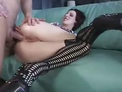 College Girl Anal Creampie